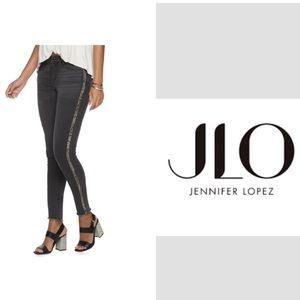 Jennifer Lopez Snake Skin Skinny Jeans Sz 18